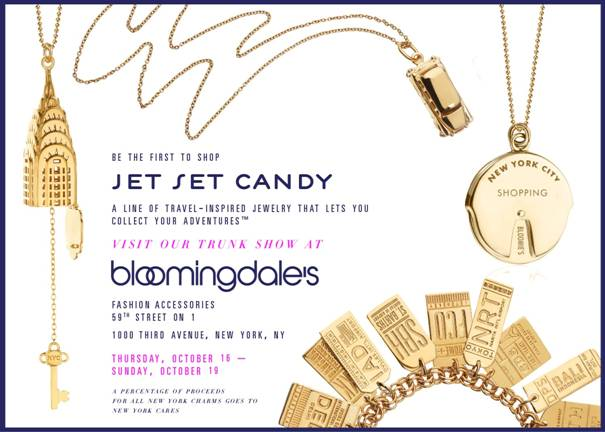 Jet Set Candy Trunk Show @ Bloomingdale's | New York | New York | United States