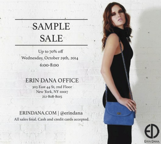 Erin Dana Sample Sale  @ Erin Dana  | New York | New York | United States