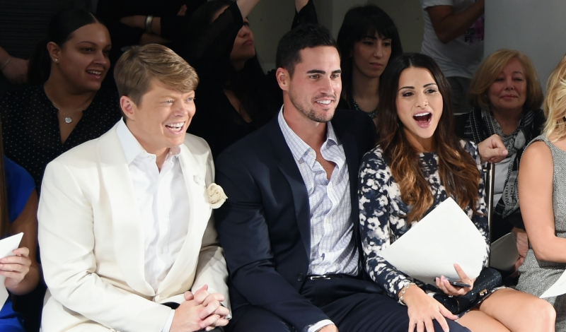 Front Row At The Mark Zunino For Kleinfeld 2015 Runway Show