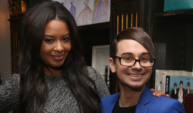 "Christian Siriano And Vanessa Simmons Celebrate The Premiere Of Lifetime's All New Fashion Series ""Project Runway: THREADS"""