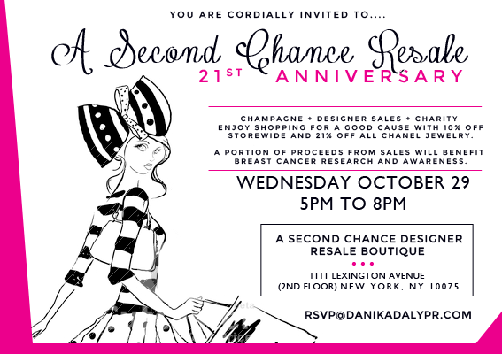 A Second Chance Resale 21st Anniversary Party @ A Second Chance Resale Boutique | New York | New York | United States