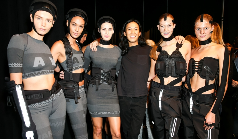 ALEXANDER WANG x H&M Launch Event - Backstage Beauty