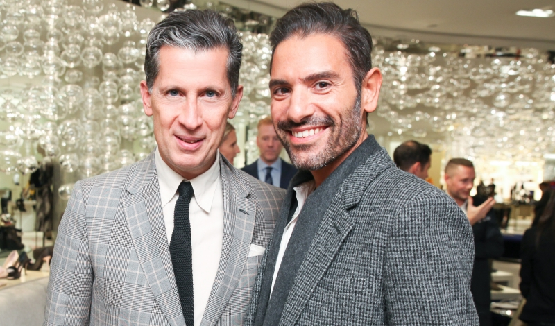 SAKS FIFTH AVENUE Sergio Rossi PA with Angelo Ruggeri