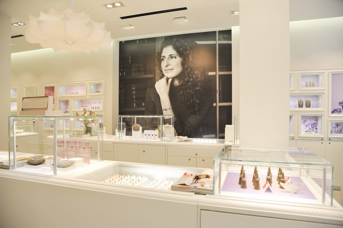 PANDORA Jewelry And Lucky Magazine Host Grand Opening Event At Georgetown Store
