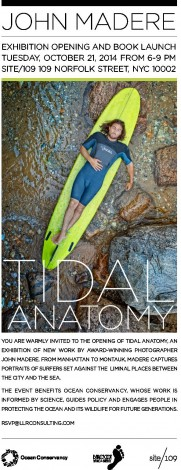 "John Madere's ""Tidal Anatomy"" Exhibition & Book Launch @ Site 109 