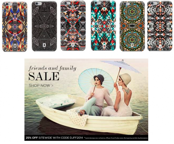 DANNIJO Friends & Family Sale / iPhone 6 Case Launch