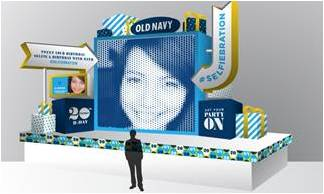Old Navy #Selfiebration Live Celebration @ Times Square | New York | New York | United States