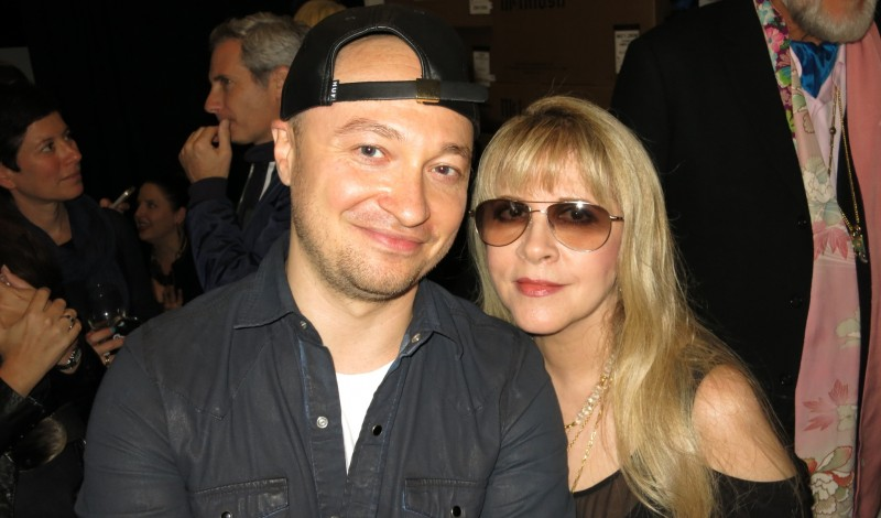 With Stevie Nicks
