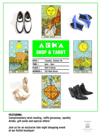 Ask.a Shop & Tarot  @ Ask.a Nolita | New York | New York | United States