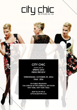 City Chic Spring 2015 Press Preview @ New York | New York | United States