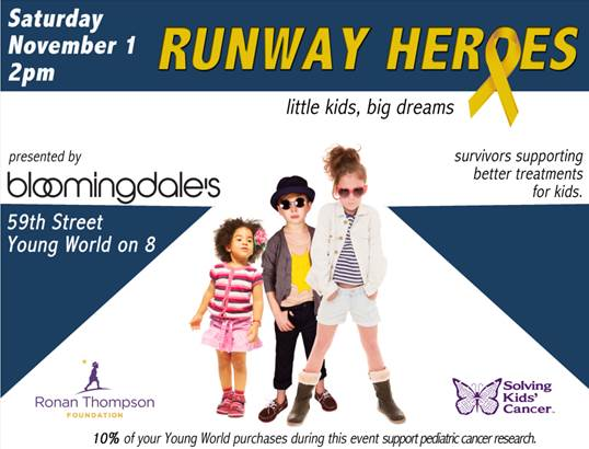 Runway Heroes Presented by Bloomingdale's @ Bloomingdale's | New York | New York | United States
