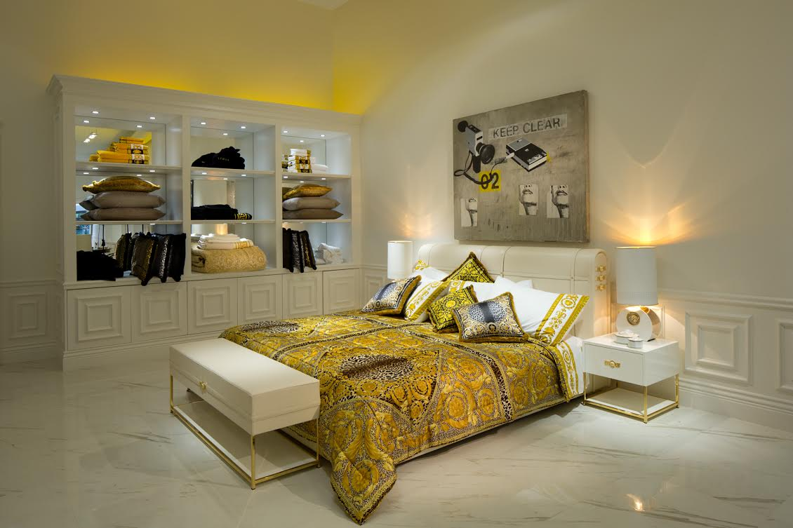 versace home brings baroque inspired interiors to canada. Black Bedroom Furniture Sets. Home Design Ideas