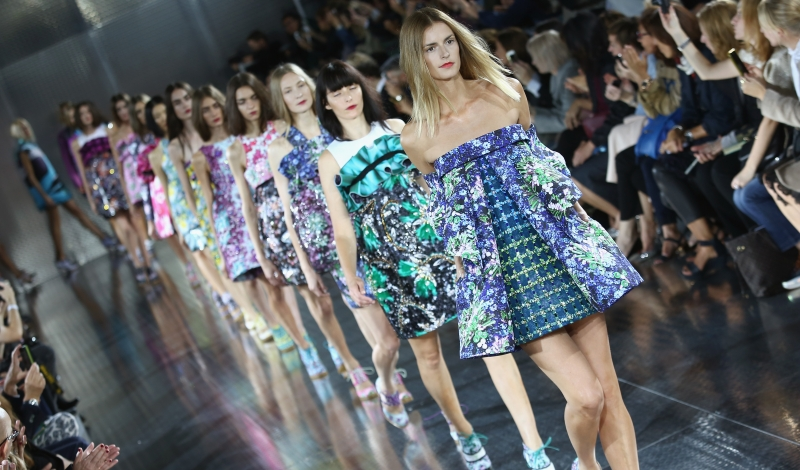 Mary Katrantzou - Runway: London Fashion Week SS14
