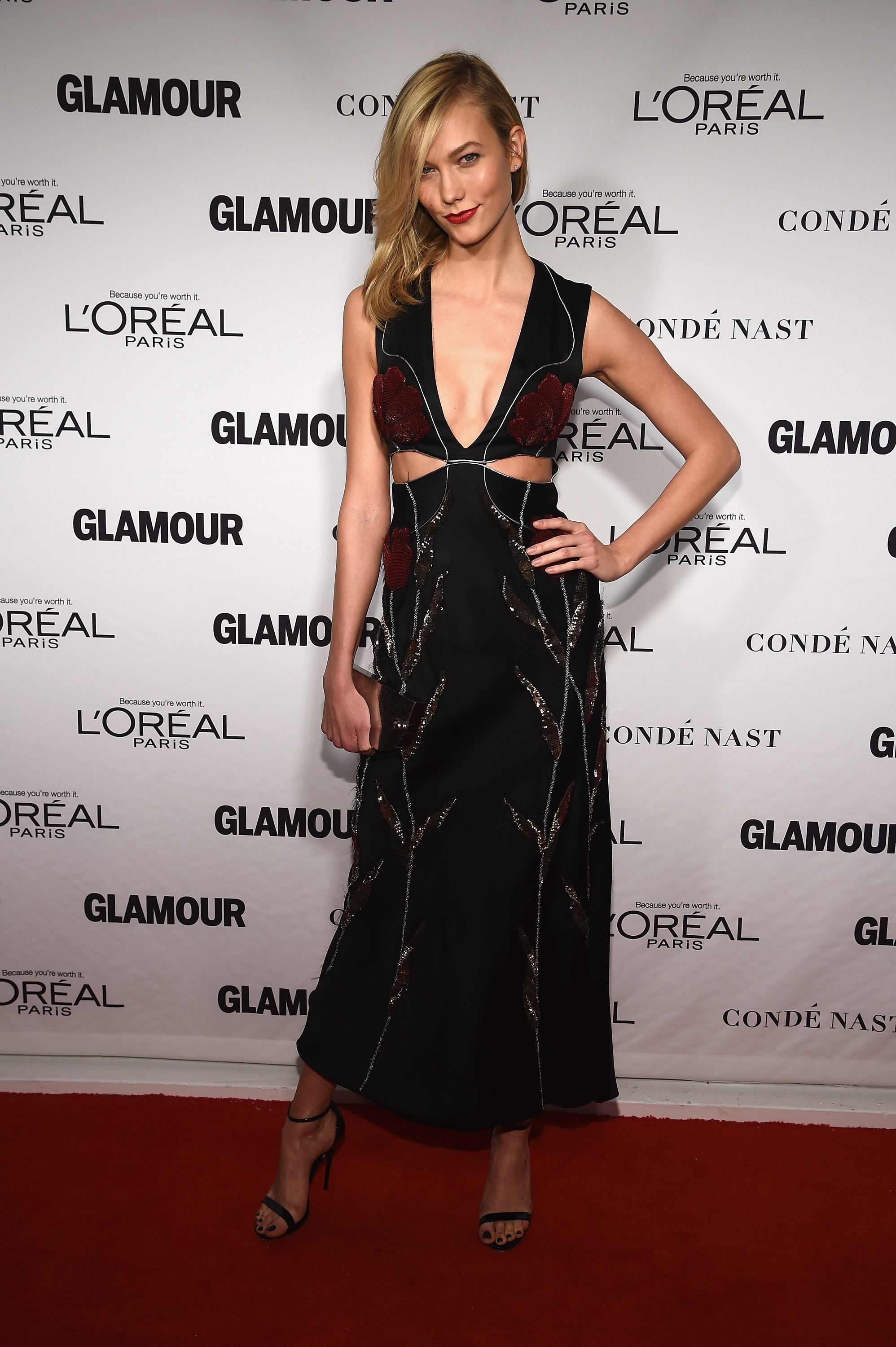 Look of the daily karlie kloss in alexander mcqueen
