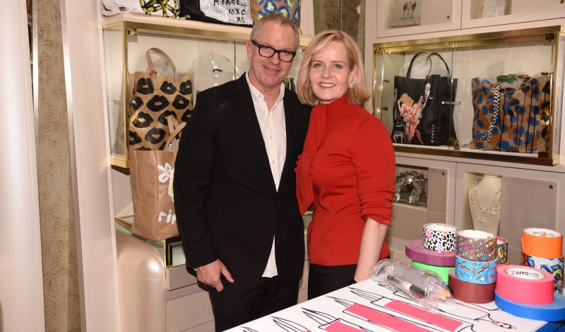 Kara Ross x Donald Drawbertson Collaboration Store Event