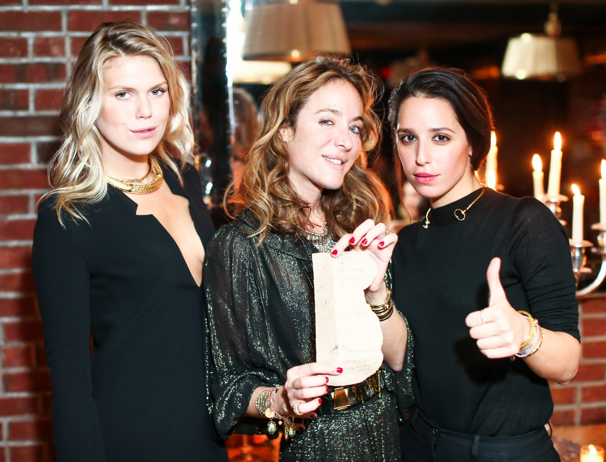 A dinner to Celebrate AURELIE BIDERMANN'S New York City Boutique Opening