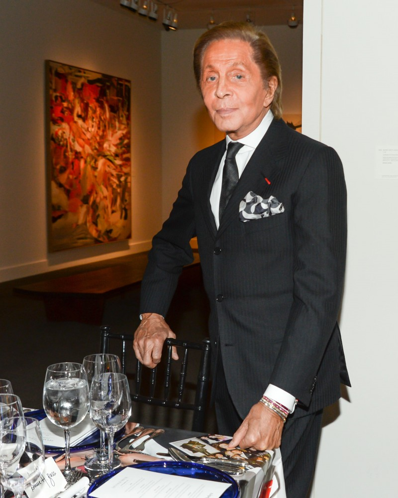 VALENTINO GARAVANI & TOBIAS MEYER Host a Dinner for GIANCARLO GIAMMETTI, on the Occasion of his New Book, PRIVATE: GIANCARLO GIAMMETTI at SOTHEBY'S