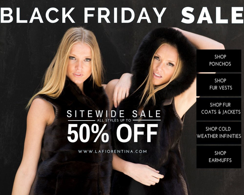 Black Friday La Fiorentina banner – eBlast