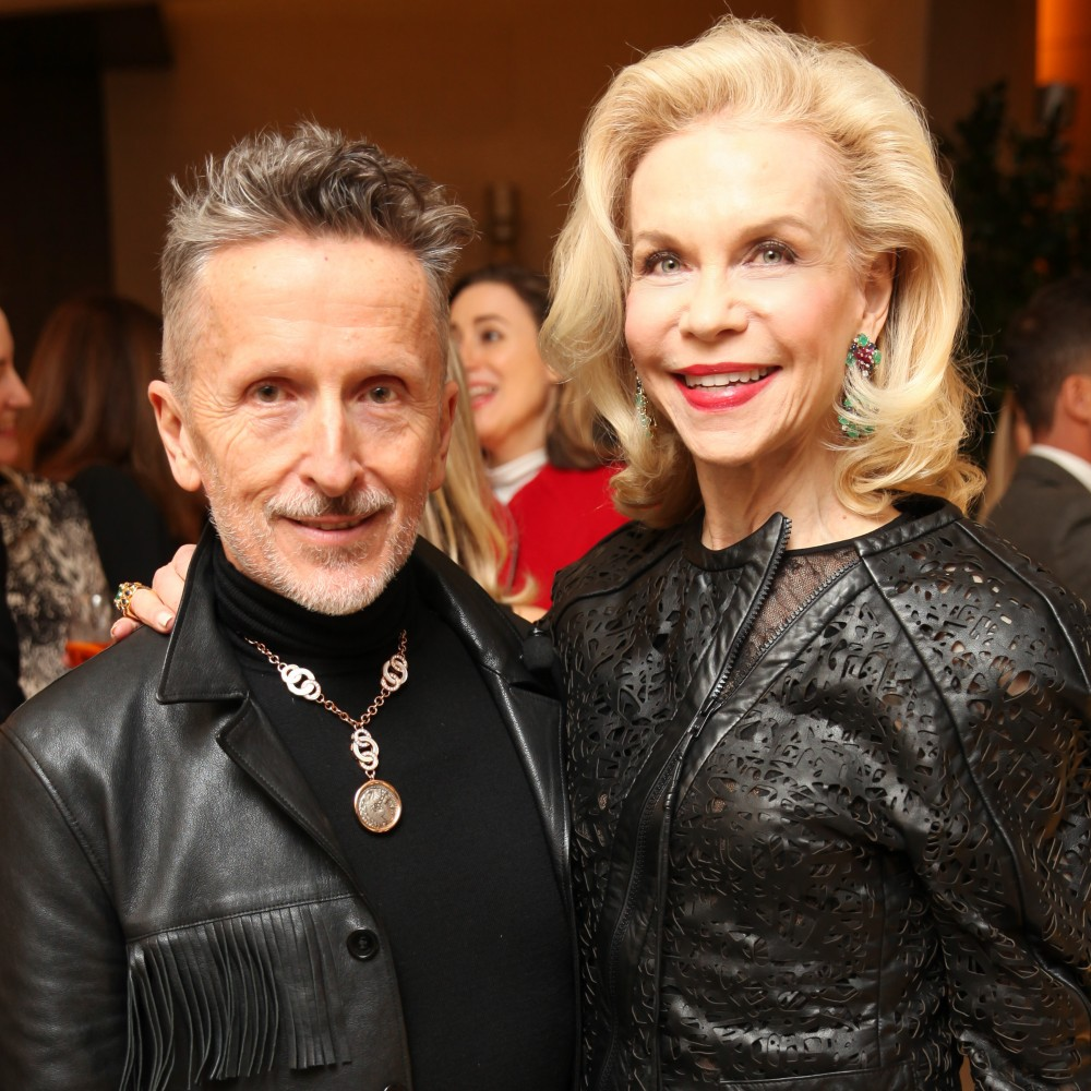 Bulgari's 130th Birthday with Lynn Wyatt and Simon Doonan