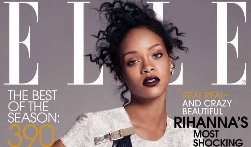 ELLE Dec 14 Cover Rihanna