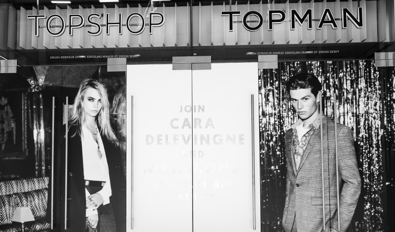 TOPSHOP TOPMAN Exclusive Store Preview of New York City Flagship #UNLOCK5TH