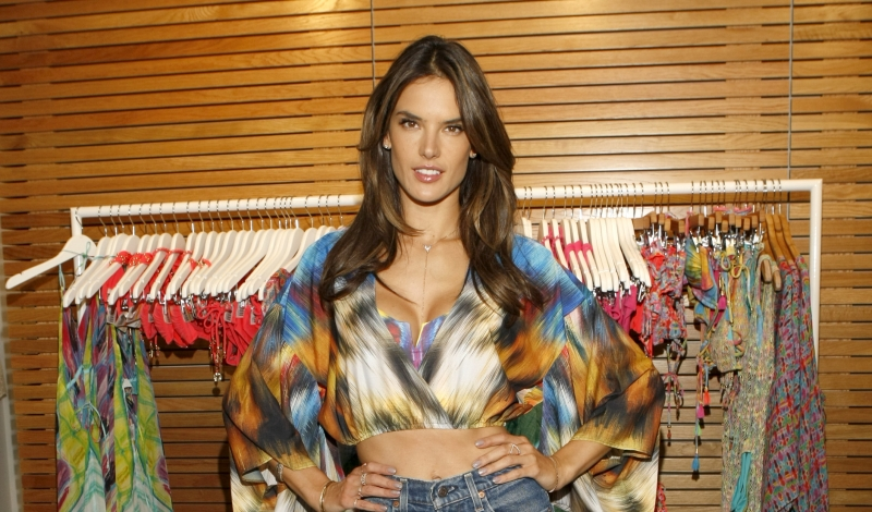 Alessandra Ambrosio Unveils Ale by Alessandra Swimwear Collection At Everything But Water
