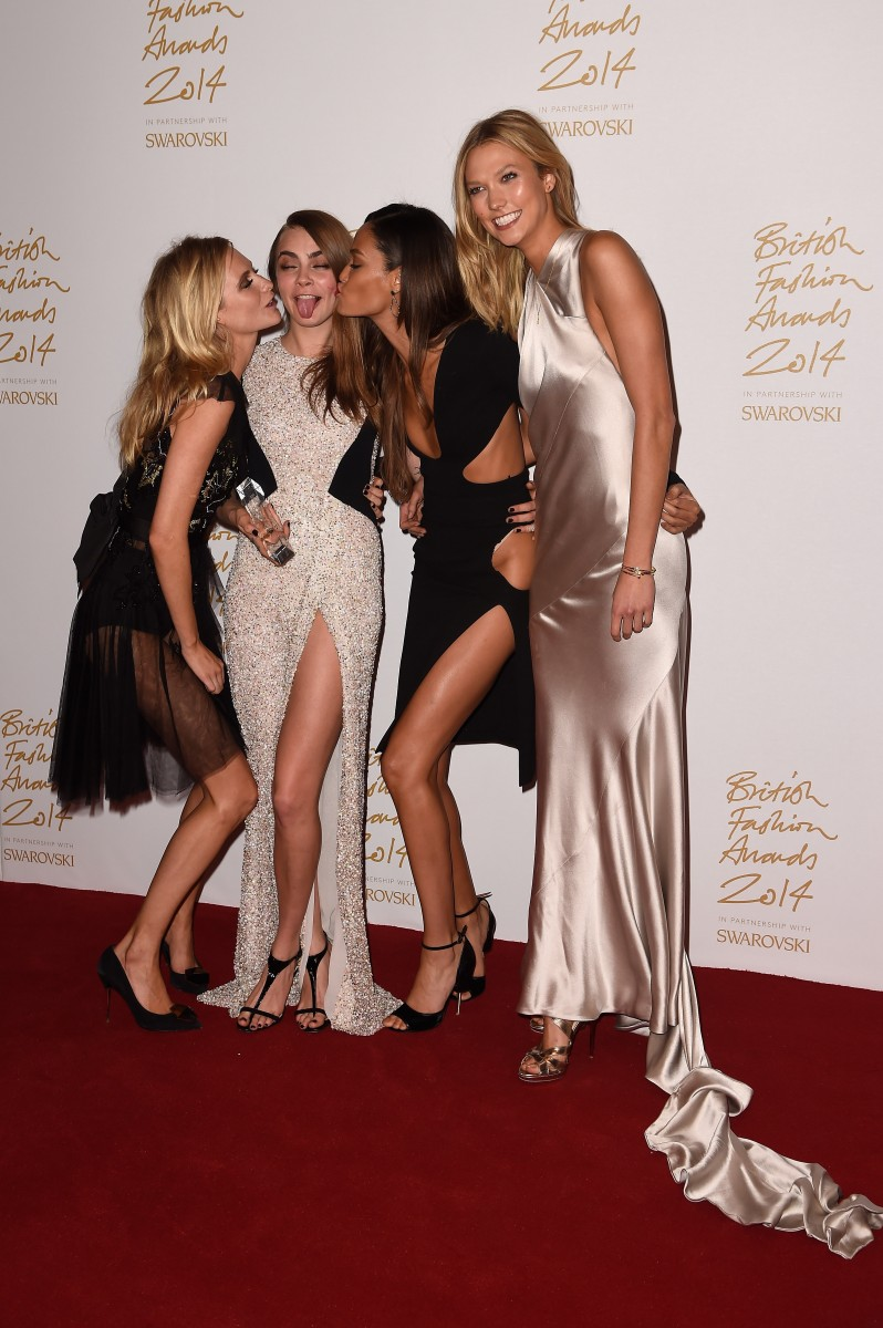 British Fashion Awards – Winners Room