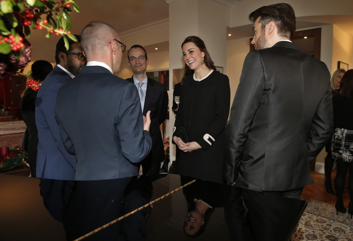 The Duchess Of Cambridge Attends Lunch At The British Consul General's Residence