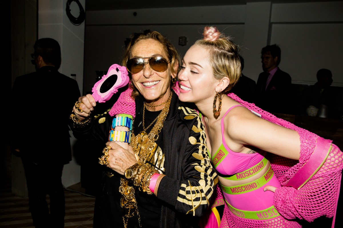 Carlyne and Miley