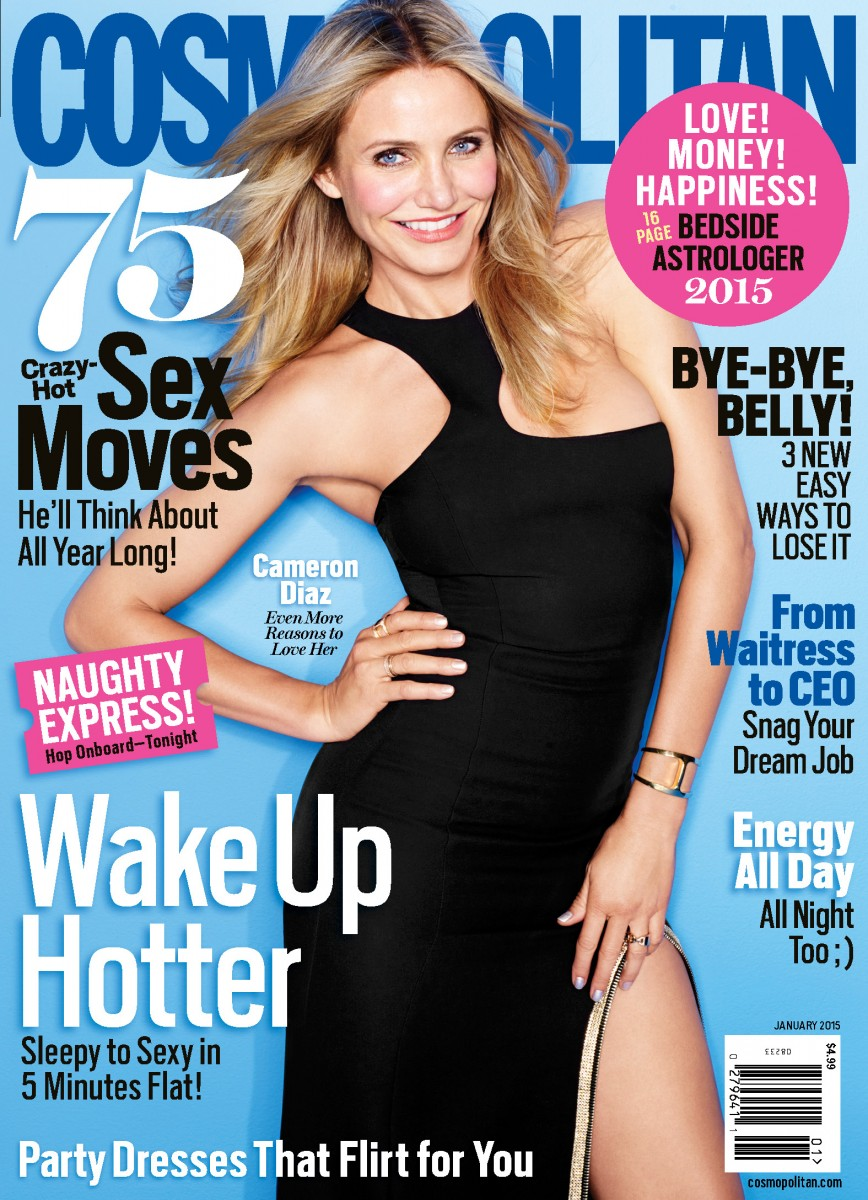 Cosmo Jan '15 Cover