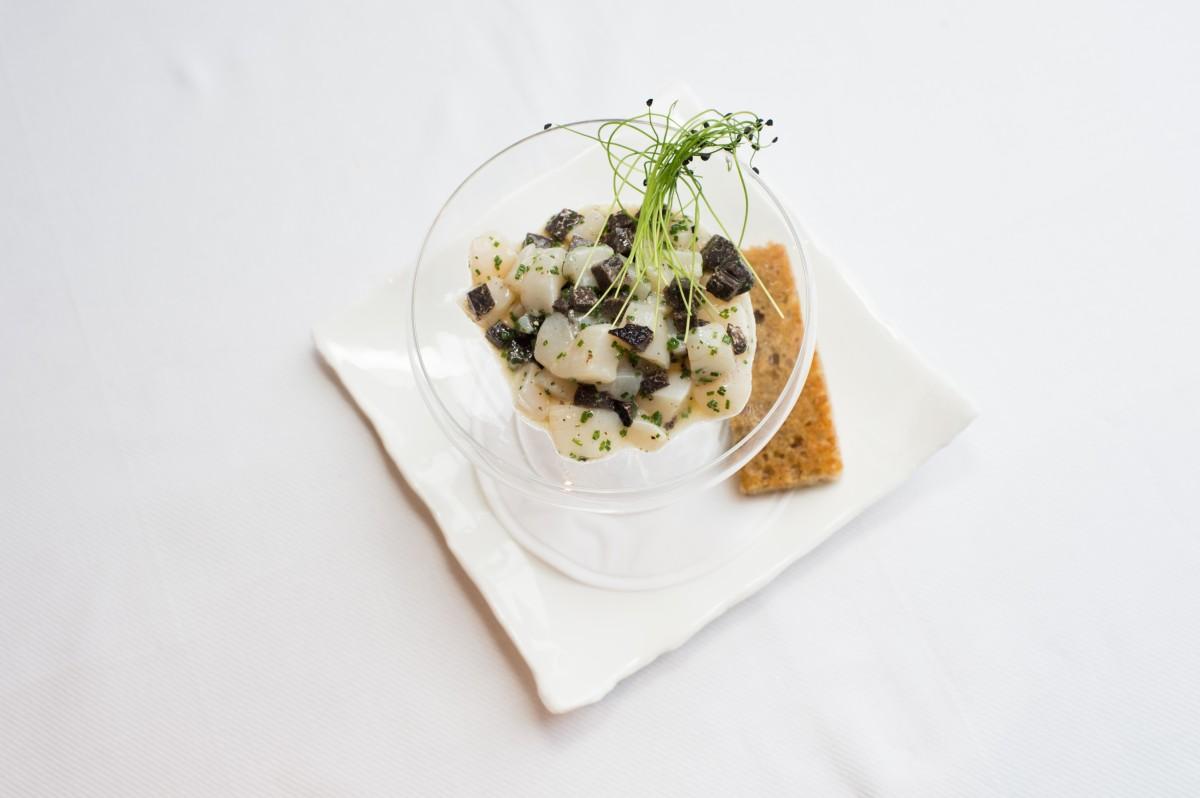 Diver Scallop & Provence Truffle Tartare 2
