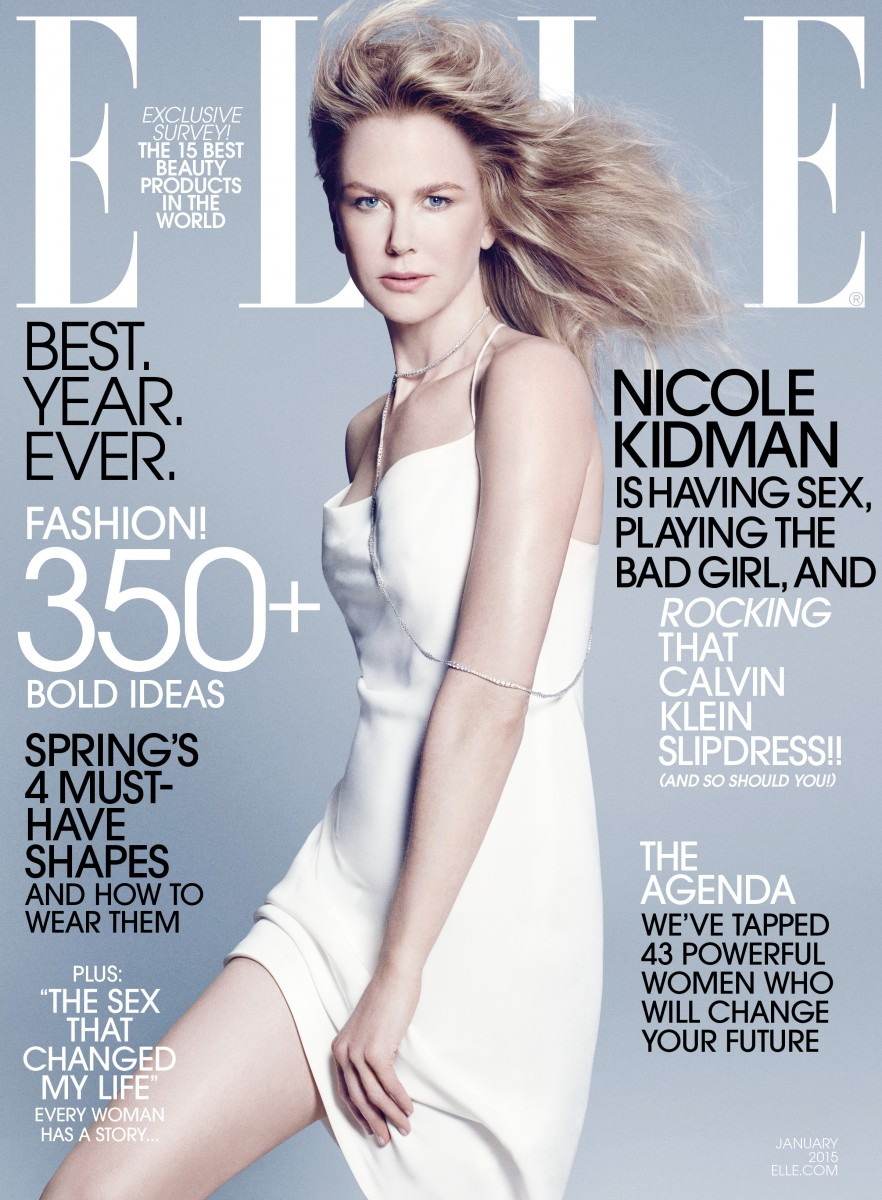 ELLE Jan 15_Nicole Kidman Cover 1