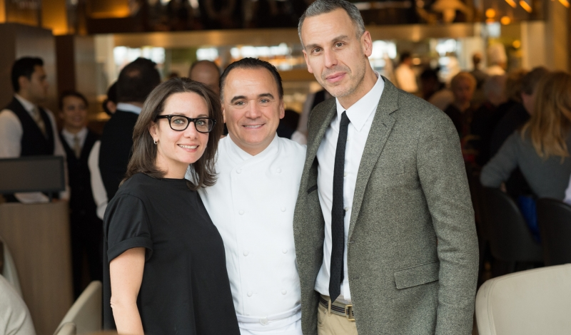 Pamela Drucker Mann, Jean-Georges Vongerichten, Adam Rapoport 1 photo credit Mimi Crawford