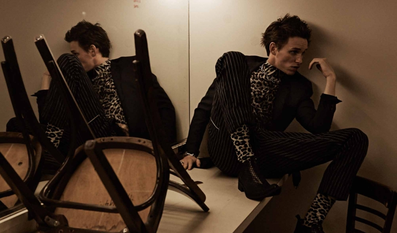 Eddie Redmayne for Interview