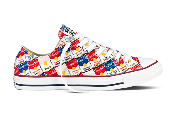 Andy Warhol Converse Shoes Blank