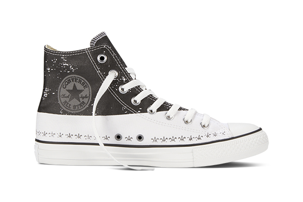 Andy Warhol Blank Converse Shoes