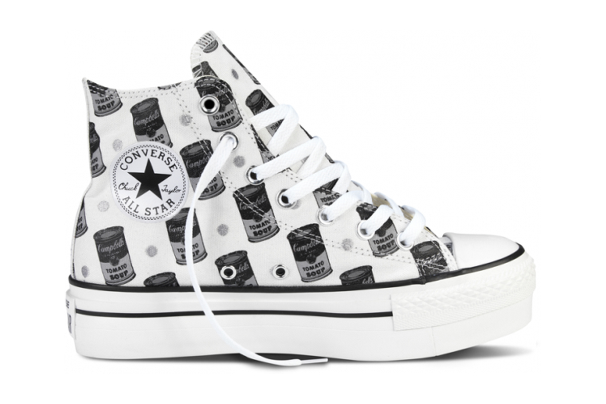 converse chuck taylor all star andy warhol lux 32999. Black Bedroom Furniture Sets. Home Design Ideas