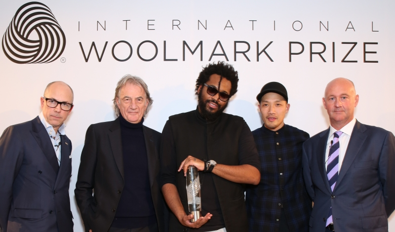 Dylan Jones, Paul Smith, PUBLIC SCHOOL (Maxwell Osborne & Dao-Yi Chow) & Stuart MCcullough, CEO of The Woolmark Company