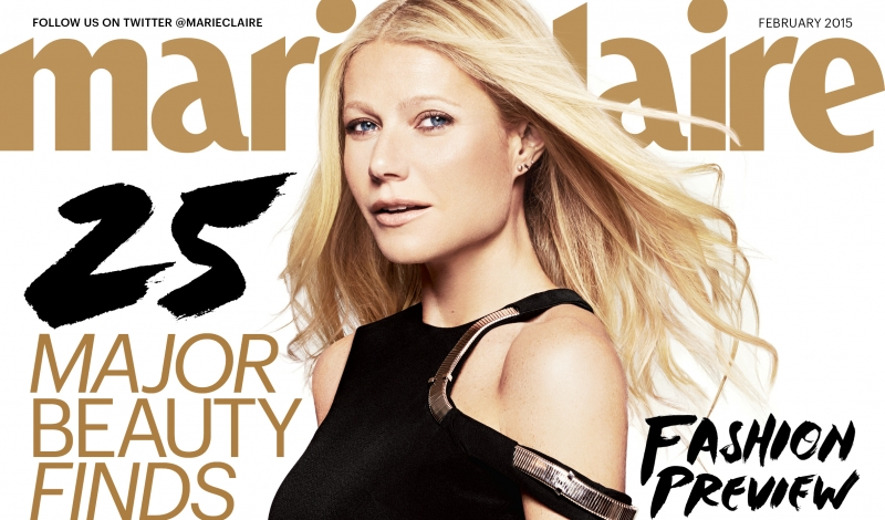 Marie Claire Feb '15 - Gwyneth Paltrow - Newsstand