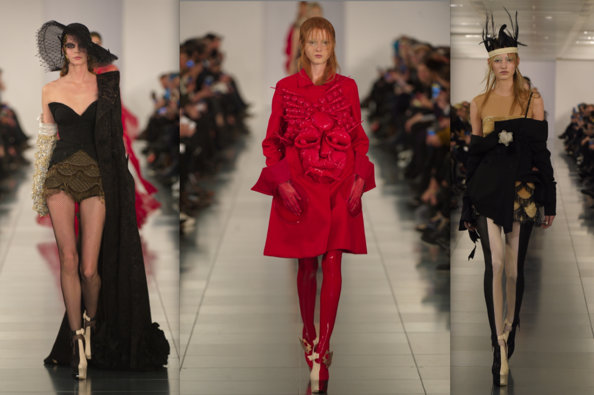 Galliano makes his debut at maison martin margiela daily for Galliano margiela