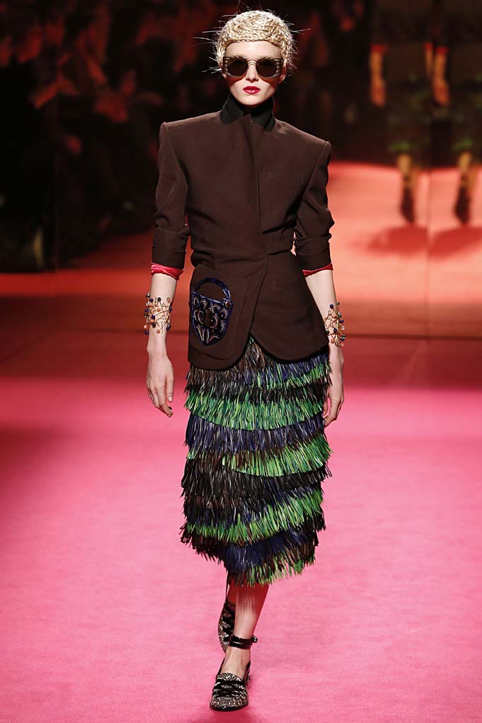 Schiaparelli Paris Haute Couture Spring Summer 2015 January 2015