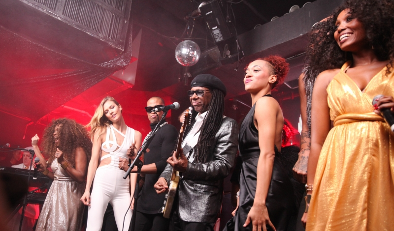 V MAGAZINE AND INEZ & VINOODH CELEBRATE NILE RODGERS WITH A VERY SPECIAL PERFORMANCE BY CHIC