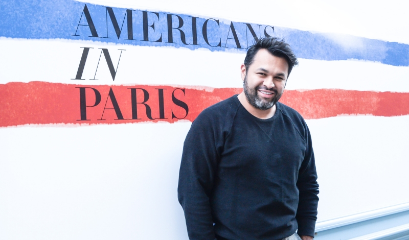 CFDA/ Vogue Fashion Fund Americans in Paris Showroom