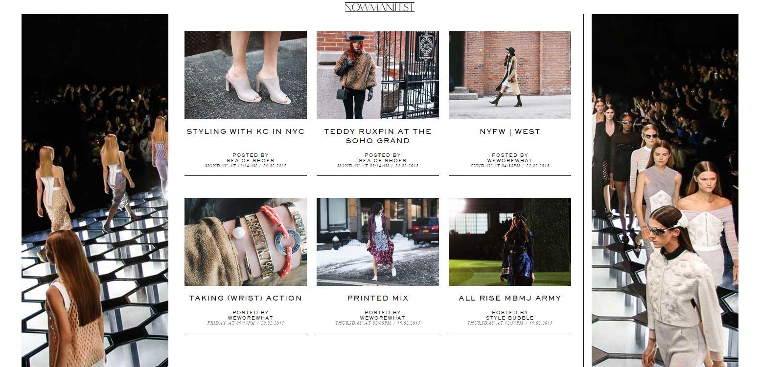 Fashion fairchild acquires a blog network photos