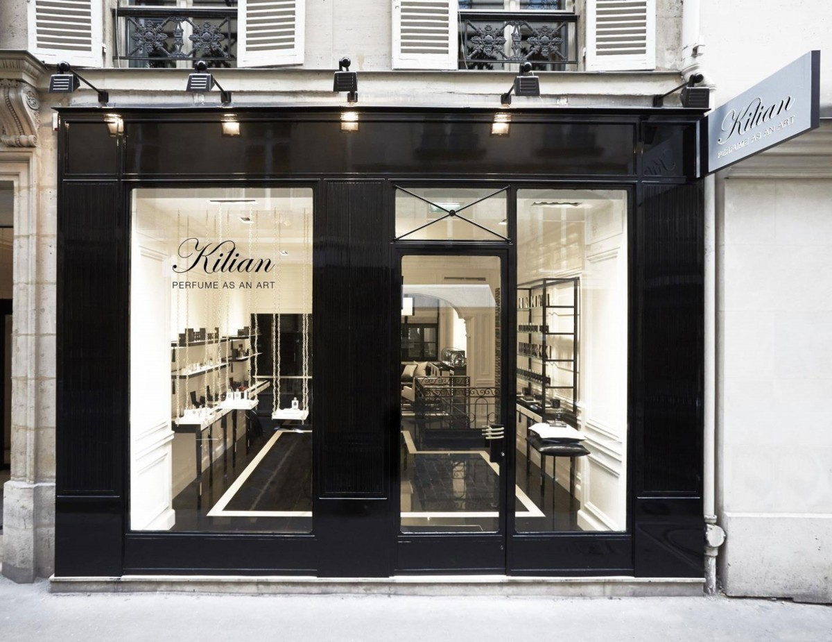 perfumer kilian hennessy opens his first parisian store daily front row. Black Bedroom Furniture Sets. Home Design Ideas