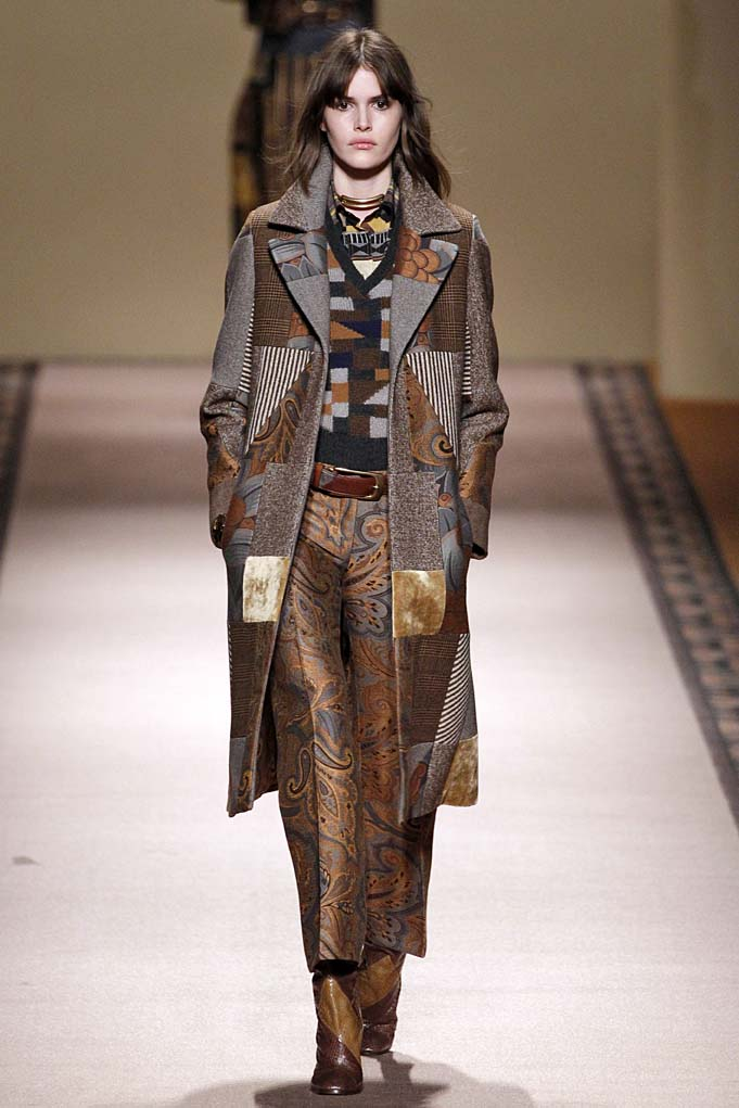 EtroMilan RTW Fall Winter 2015 Feb Mar 2015