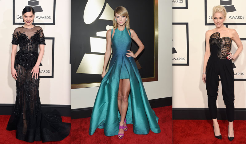 e0fc2044fb121 Glitz And Glam On The 2015 Grammys Red Carpet