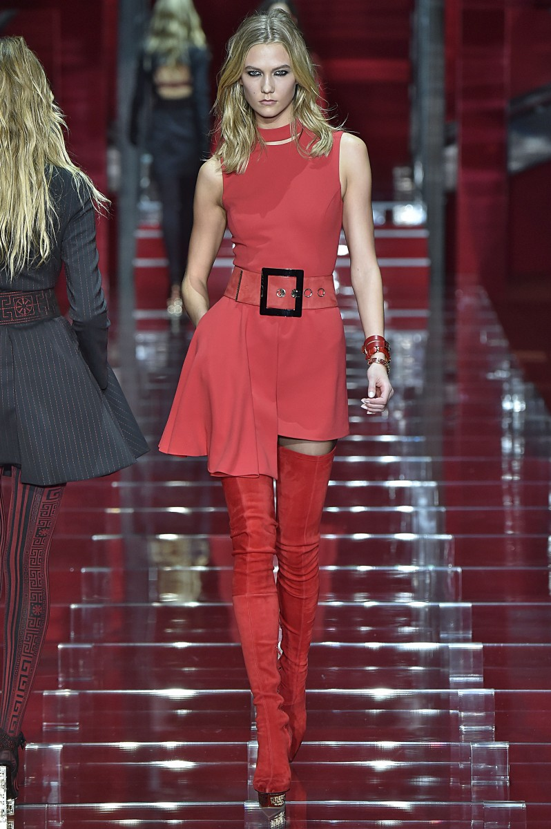 VersaceMilan RTW Fall Winter 2015 February March 2015