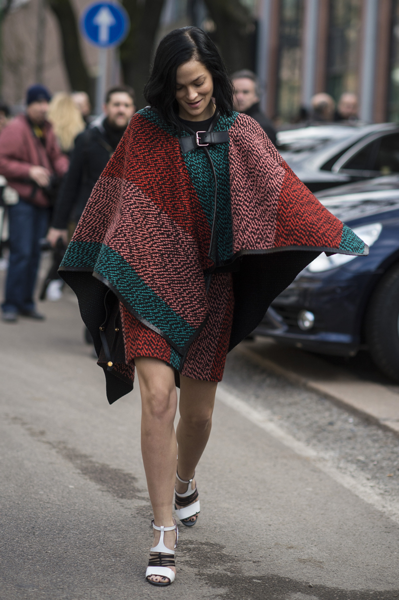 Milan Fashion Week Mfw Street Style Day Two Daily Front Row