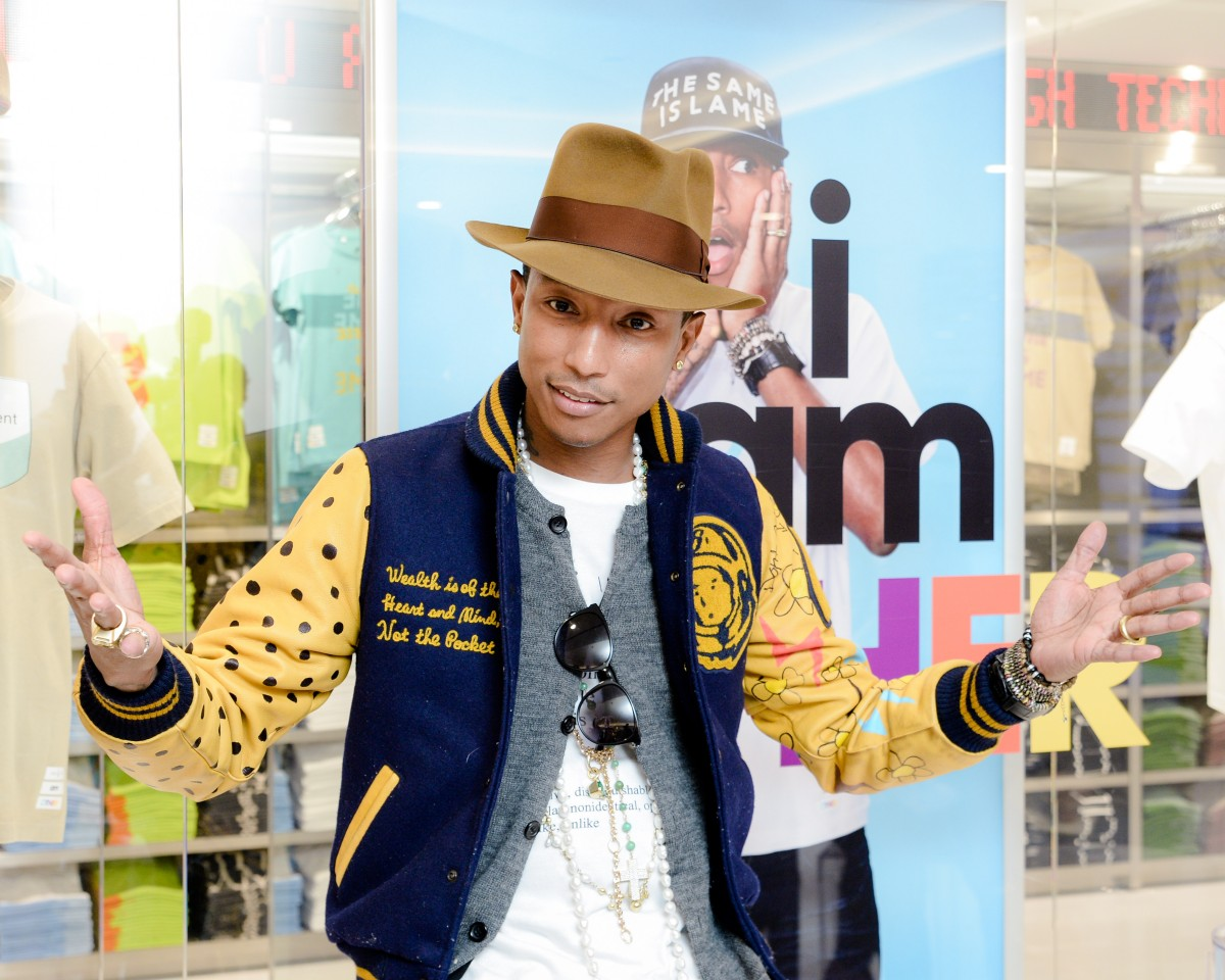 "PHARRELL WILLIAMS and UNIQLO Celebrate ""i am OTHER"" Collaboration"